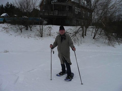 Snowshoeing in Canada